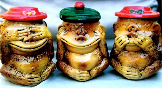 Посуда и чашки из глины с приколами, сувенирные чашки и посуда из керамики
